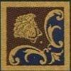 Gardenia (Versace) Vanitas Girospecchio Classico Blu 37341