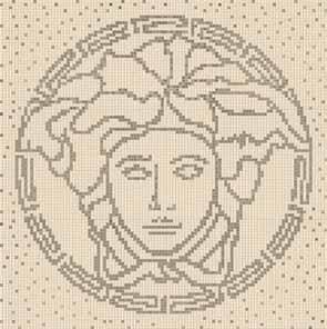 Gardenia (Versace) Vanitas Composizione Medusa Beige/Silver 37200