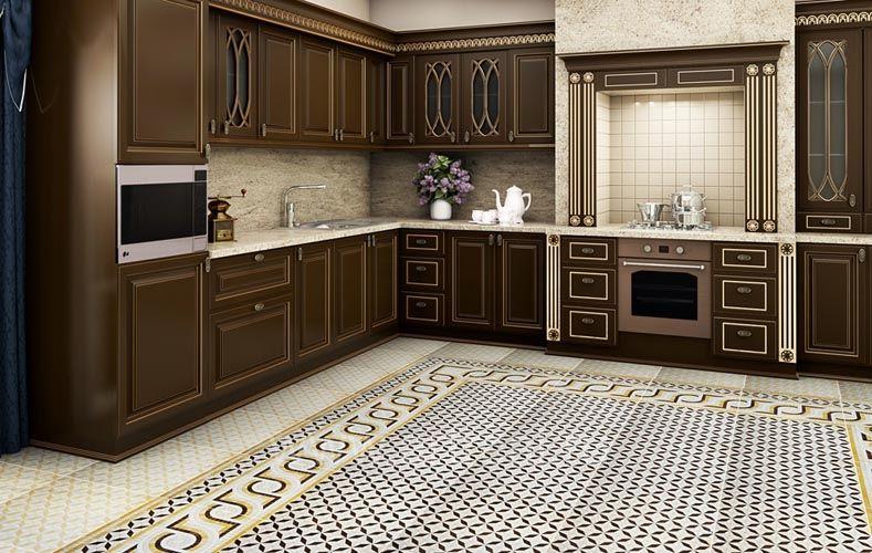 Кухня инфинити фото в интерьере